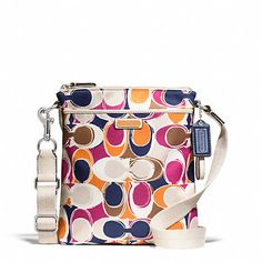 ' BNWT, Coach Park Hand Drawn Scarf Print Swingpack' is going up for auction at  4pm Mon, Jul 29 with a starting bid of $125.