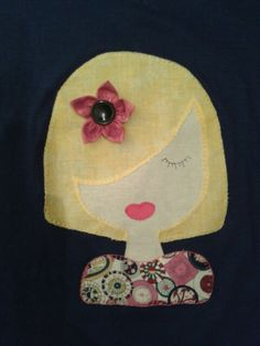 Camiseta Patchwork Shirts For Girls, Girl Shirts, Quilts, Appliques, Tie Dye Shirts, Sewing Projects, The Creation