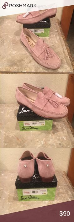 Sam Edelman Therese Loafer Beautiful as a  Luxury & Class for that Stylish Chic.  This Suede & Tassel loafer is soft & Romantic all in one . Soooo Comfy you will live in these cute flats Circus by Sam Edelman Shoes Flats & Loafers