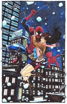 Spider-Man & MJ - Joseph Cooper