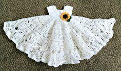 Pretty Pineapples Crochet Baby Dress Pattern