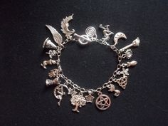 The Witch's Charm... Bracelet by CellDara on Etsy, $21.00