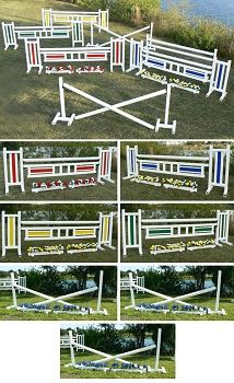 PK Training - PVC Horse Jumps Course Package (7 jumps)