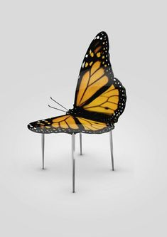 Chair butterfly - Greetings from Flower |designed by Haris Jusovic #UniqueChair