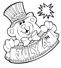 106 Best 4th Of July Coloring Pages images | Coloring books ...