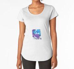Frauen Premium T-Shirts Otters, V Neck, Stuff To Buy, Shopping, Tops, Women, Fashion, Watercolors, Moda