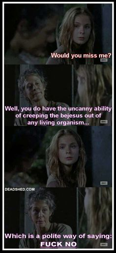DeadShed Productions: Creepy Lizzie Edition: The Walking Dead 4x14 Memes...