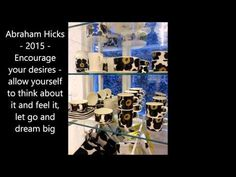 Abraham Hicks 2015 - Encourage your desires - allow yourself to think ab...