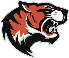 View top-quality illustrations of Tiger Head Mascot Find premium, high-resolution illustrative art at Getty Images. Mascot Design, Logo Design, Lettering Design, Graphic Design, Photo Illustration, Graphic Illustration, Logo Gato, Tiger Vector, Tiger Logo