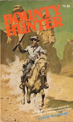 Bounty Hunter by Aaron Fletcher. Horwitz 1977. Cover artist unknown