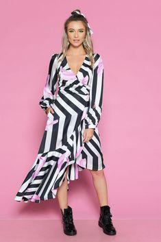 Rochie RAINA D - Mathilde Wrap Dress, Summer, Dresses, Fashion, Vestidos, Moda, Summer Time, Fashion Styles, Dress