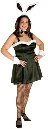 f8691447eed2b Black Cocktail Bunny Costume (Plus Size) - Candy Apple Costumes - Browse  All Women's