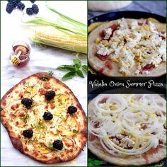 Vidalia Onion Summer Fruit Pizza by Spinach Tiger