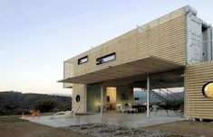 Casa Manifesto - Built by Infiniski - Designed by James & Mau Architecture House in Curacaví, Chile.
