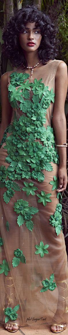Patricia Viera Spring 2017/// Pamela Isley (Poison Ivy) inspiration