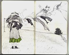 Andrea Kowch: Sketchbook | by Andrea Kowch