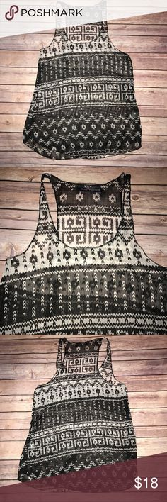 Brandy Melville See through Tank Top New without tags. One size fit all. 65% cotton 35% polyester. Brandy Melville Tops Tank Tops