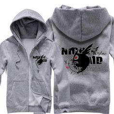 Camplayco Akame Ga Kill Cosplay Gray Hoodies Warm Coat Size XL * Continue to the product at the image link.