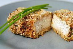 Pecan crusted tofu, the right way.