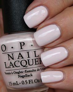 Sweet OPI nail polish for weddings Thanksgiving Nail Designs, Thanksgiving Nails, Opi Nail Colors, Pink Nail Polish, Blush Pink Nails, Purple Nails, Trendy Nails, Cute Nails, Nailart