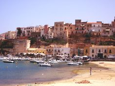 Castellmare del Golfo, Sicily.  Great place to rent a boat for the day and beach hop