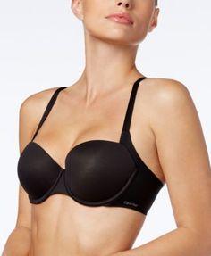 a1ebfe9a29916 Calvin Klein Invisible-Seam Balconette Bra Women - All Bras - Macy s