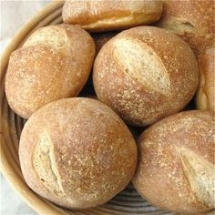 They once were lost, but now they're found... Crusty Hard Rolls  - Flourish - King Arthur Flour