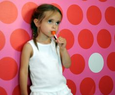 REMOVABLE FABRIC ECO-FRIENDLY WALLPAPER ottiliscious Wallpaper | Pop and Lolli #popandlolli #pinparty