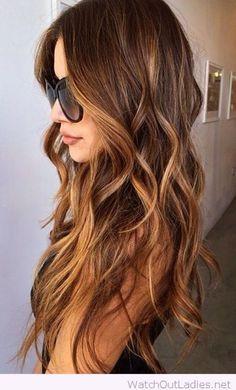 47 Catchy Fall Hair Color Ideas  #haircolor #hairstyle #hair #look