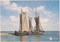 Куренасы на Куршском заливе. Фото ок. 1940 г.