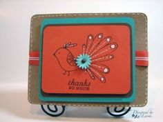This layout is fun, I want to try it where the card opens with the teal or orange layer