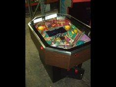Rare CARIBBEAN CRUISE cocktail table Pinball Machine-and its HISTORY!