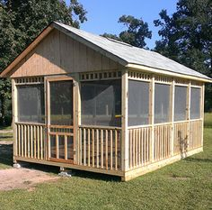 Screened Gazebo, Backyard Gazebo, Backyard Patio Designs, Fire Pit Backyard, Backyard Ideas, Outdoor Screen Room, Outdoor Rooms, Outdoor Living, Shed Plans 12x16