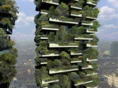 Vegetal Tower project in Milan