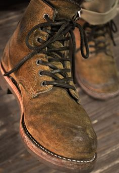 Denimhead : Фото Red Wing Boots, Lace Up Boots, Jeans And Boots, Me Too Shoes, Men's Shoes, Shoe Boots, Mens Boots Fashion, Fashion Shoes, Adventure Boots