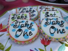 Mad Hatter Tea Party cookies