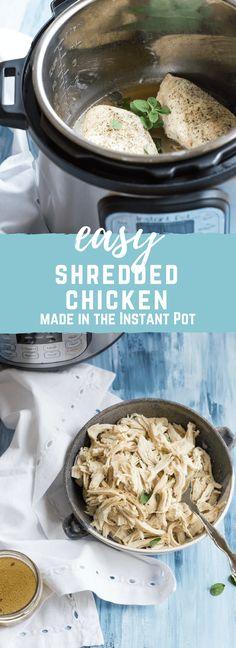 Instant Pot Easy Shr