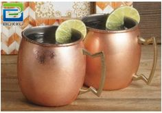If you're going to drink a mule or a mint julep, you've got to have the right #drinkware. #MoscowMuleMug http://www.amazon.com/Cocktail-Buxxu-Reimagined-Distinguished-Brilliant/dp/B00NYBQ1JQ