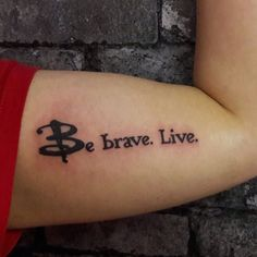 jakebrowntattoos No matter how small, any nerdy (especially Buffy related) tattoos are always appreciated (27/04/17)