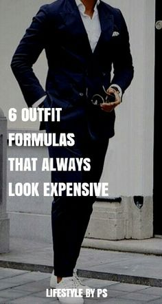 Mens Outfit Ideas That Always Look Expensive.