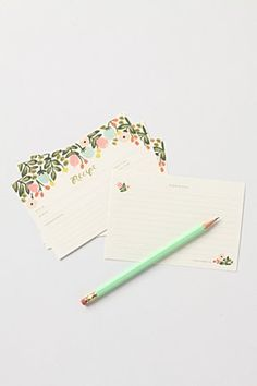 recipe cards ANTHROPOLOGIE 14 euro