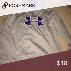 Under armour hoodie Size medium. Worn once Under Armour Tops Sweatshirts & Hoodies