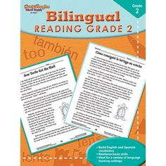 Houghton Mifflin Harcourt Bilingual Reading Grade 2 Book