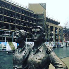 #womenofsteel #BuildingofMiners #NUM #sheffield
