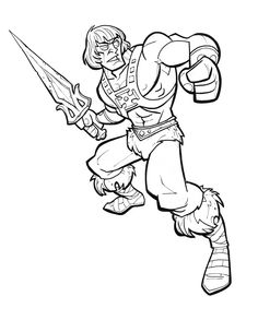 He-Man line by jimmymcwicked.deviantart.com on @deviantART