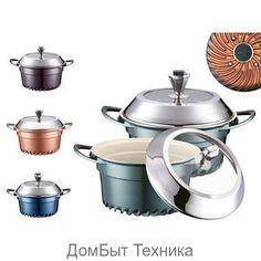 """Кастрюли 15715 """"PH""""  (х4) http://vsevsevse.com/posuda-dlya-prigotovleniya-ru/posuda/nabory-kastryul/kastryuli-15715-ph-h4/  Цена: Р2970.00"""