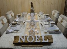 Les tables de stef table decor tablescapes party ideas pint - Decor de table pour noel ...