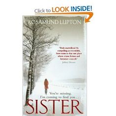 Sister--really enjoyed this one.  Had an unexpected ending.