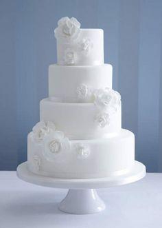 Bolo Fake - Bolo Cenográfico - Bolo Falso - Fake Cake - Casamento - Wedding - Bodas - Pinterest GroomsandBrides