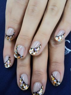 Different but pretty! #NailArt